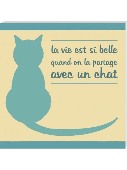 panneau amour des chats