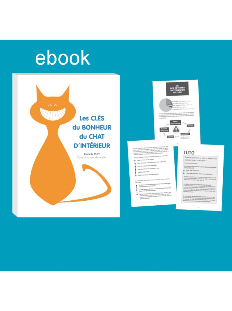 ebook les clés du bonheur du chat d'intérieur